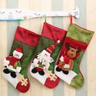 Christmas Santa Socks Tree Hanging Decoration Xmas Ornaments Festival Party LD