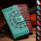 Mandala Magnetic Flip Leather Stand Card Wallet Case  For iphone 7 7 Plus 6s 5se