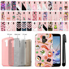 For LG Stylo 3 Plus Stylo 3 Stylus 3 L83BL Sparkling Light Pink Case Cover + Pen