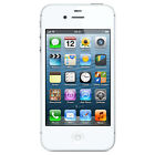 Apple iPhone 4S 8GB  Factory Unlocked  Black and White Smartphone