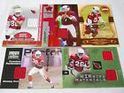 ARIZONA CARDINALS 112 CARD LOT 4-JERSEYS, 1-AUTOGRAPH, NO DUPS, THOMAS JONES