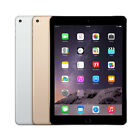 "Apple iPad Air 2 64GB ""Factory Unlocked"" WiFi Cellular iOS 2nd Generation Tablet"