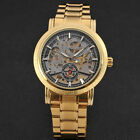 Oversized Case Men's Fashion Skeleton Stainless Steel Automatic Mechanical Watch