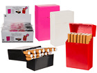 Plastic Cigarette Case - Smoking Case Holder Pink White Red Black