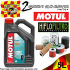 5L MOTUL OUTBOARD TECH 10W40 OIL AND HF204 FILTER FITS VEHICLES IN DESCRIPTION
