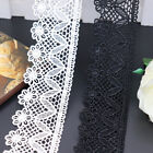 1 Yard Polyester Lace Trim Ribbon Embroidered Flowers Sewing Decor Craft FL126