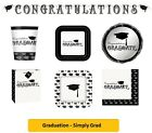 GRADUATION - Simply Grad (Party Tableware, Banners, Balloons & Decorations)