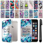For Apple Iphone 6 Plus/ 6s Plus 5.5 inch Clear TPU Case Phone Cover + Pen