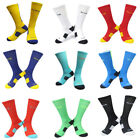 Men Cushioned Long Socks Basketball Crew-Athletic Dri-Fit Football Socks Cool
