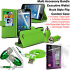 Quality Leather Wallet Protection Phone Case Cover✔Accessory Pack✔Green