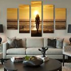 5Pcs Unframed Canvas Print Painting Modern Art Scenery Picture Home Wall Decor