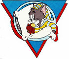"""2.5""""-5.5"""" TOM AND JERRY CUSTOM  HEAT TRANSFER IRON ON CHARACTER"""