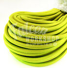 8mm LIME GREEN INDUSTRIAL TYPE BUNGEE ROPE / SHOCK CORD / LUGGAGE STRAP ELASTIC