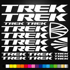 Trek 17 Stickers Autocollants Adhésifs - Vtt Velo Mountain Bike Freeride