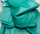 A22 Leather Cow Hide Cowhide Upholstery Craft Fabric Kelly Green