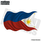 Philippines Waving Flag Decal Filipino Car Window Vinyl Sticker (LH) M55