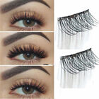 4Pcs/set Magnetic 3D False Eyelashes Long Real Mink Natural Fake Eye Lashes