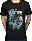PANTERA Texas Skull T-SHIRT OFFICIAL MERCHANDISE