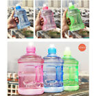 BPA Free Water Bottle Half Gallon Drink Gym Canteen Jug Container Colors 0.5/1L
