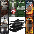 Shockproof Hybrid Durable Protective Dual Shell Case for LG Phone Models $12.99 USD on eBay