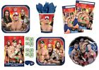 WWE WRESTLING Birthday Party Range (Tableware & Decorations) 2