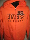 NHL Philadelphia Flyers Hockey Full Zip Hooded Sweatshirt Jacket Majestic womens $38.99 USD on eBay