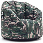 Big Joe Milano Bean Bag Chair w Stain Resistant Fabric Polystyrene Beans NEW