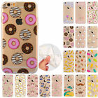 Rubber Pattern Soft TPU Silicone Back Case Cover  for iPhone 5S 6S 7 Plus O0026