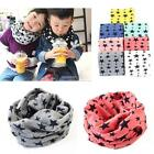New Fashion Kids Long Warm Stars Printed Snood Outdoor Neck Warmer B20E