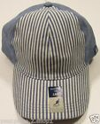 Kangol Men's Blue Prep Stripe Baseball Strapback Hat