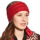 10018331 Ariat Women's Cable Knit Headband - Rouge NEW