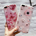 3D Relief Flower TPU Soft Shell Phone Cases Cover For iPhone 7 7Plus 6 6S Plus