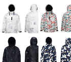 Southplay New Ski-Snowboard  Waterproof Outerwear Hood Double Closed Jacket