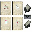 Christmas & New Year Wishes Universal Folio Leather Case For Lenovo Tablets