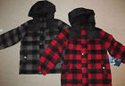NEW Ixtreme Outfitters Wool Hooded Winter Jacket Coats BOYS SIZES 5 6 CHOICE