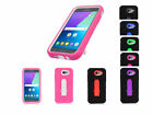 2Layer Shockproof Case Cover w/2Way Stand For Samsung Galaxy J3 Emerge 2017