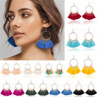Внешний вид - Womens Fashion Bohemian Earrings Long Tassel Fringe Boho Dangle Earrings Jewelry
