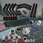 DIY Black Intercooler Piping Couplers Turbo Kit for Acura Integra DC2 B-Series
