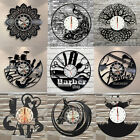 Retro Exclusive Animals Wall Clock Made of Vinyl Record Home Hanging Decor GIFT