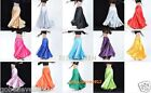 Brand New Beautiful Belly Dance Satin Skirt 14 Colors One Size Free Shipping