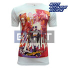 Retro Arcade Batman & Robin Joker Men's Standard Fitted T-shirt Medium Sample