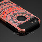 Mandala Hybrid Rubber Hard Shockproof Case Cover Skin for iPhone 5se /6S /7 Plus