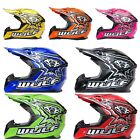 Wulfsport Junior Cub Flite Xtra ATV MX Crash Helmet Lowest Price 7 COLOURS