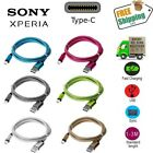 Braided USB-C Fast 3A Fast Charger Type-C Cable For Sony Xperia XZ X Compact