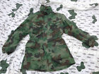 Serbian Woodland Camouflage Winter Combat Smock With Liner