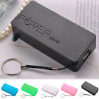 5600mAh 2X 18650 External USB Power Bank Battery Charger DIY Box Case Holder UK