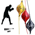 Double End Muay Thai Boxing Punching Speed Ball Bag PU Punch Training Ball ISP C