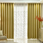 New Plain Thick Living Room Curtain Heavy Weight Upholstery Soft Chenille Fabric
