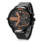Men Fashion Luxury Wrist Watch Stainless Steel Sport Analog Quartz Wristwatches