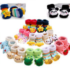 Внешний вид - Baby Girl Boy Anti-slip Socks Cartoon Newborn Slipper Shoes Boots 0-12 Months